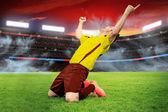 das Fußballspiel