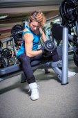 Fotografie Das Fitness-Studio-Mädchen