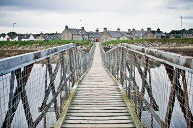 a Lossiemouth bridge