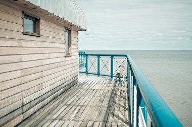 Part of a pier