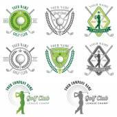 Elegant Golf Club Logos