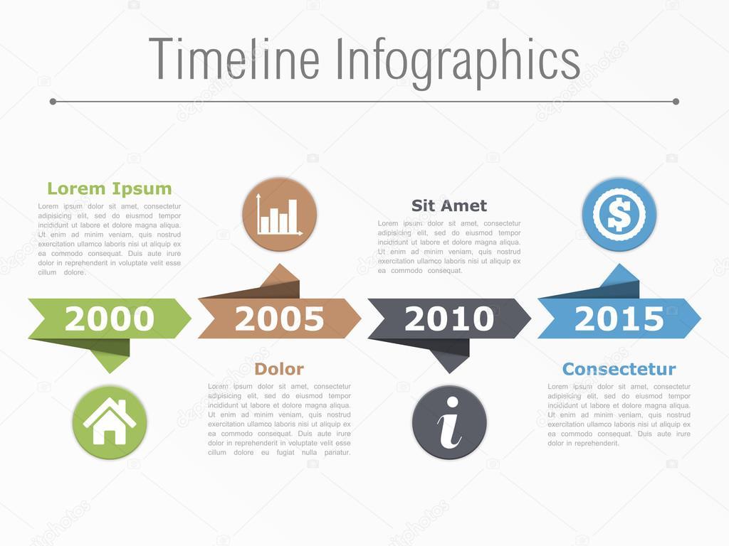 Infografiken Zeitplanvorlage — Stockvektor © human_306 #95562232