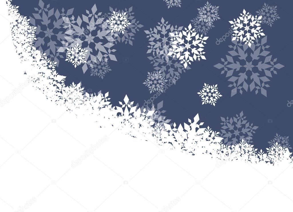 winter nacht hintergrund wei schneeflocken fallen. Black Bedroom Furniture Sets. Home Design Ideas