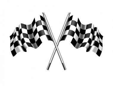 Checkered Chequered Flag - Motor Racing