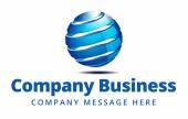 Fotografia Azienda Global Business Logo simbolo