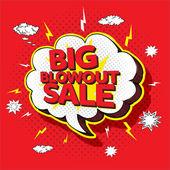 Fotografie Großer Verkauf Verkauf pop-up-Cartoon-banner