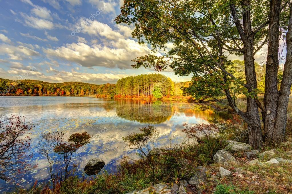Colores otoño paisajes paisajes — Foto de stock © andreiorlov #57924337