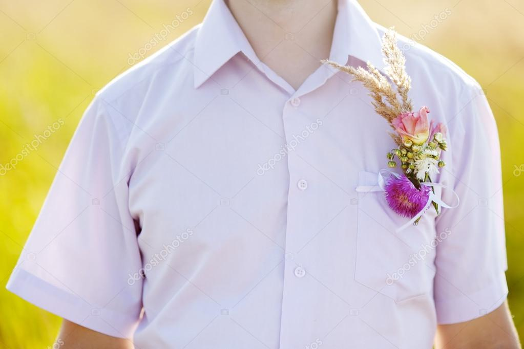 Boutonniere groom