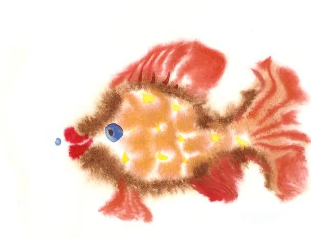 Schwimmende Aquarienfische