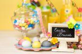 Photo Dessert table, Easter brunch