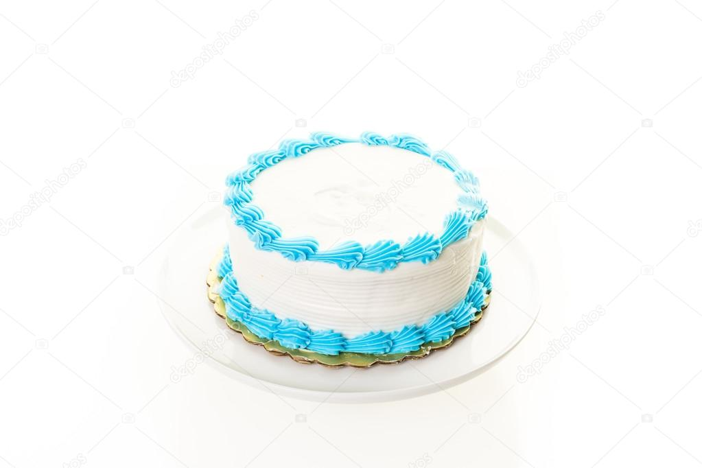 simple Birthday cake — Stock Photo © urban_light #104976408