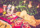 Fotografie Party-Tisch, Fiesta