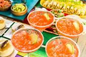 Fiesta bufetového stolu