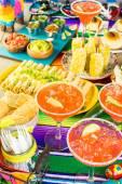 Fotografie Fiesta bufetového stolu
