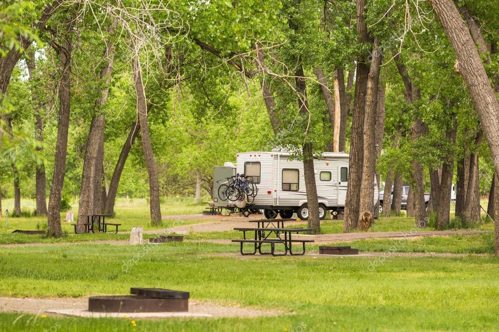 summer Camping at park