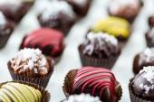Photo Chocolate truffles