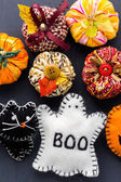 Photo Fabric pumpkins