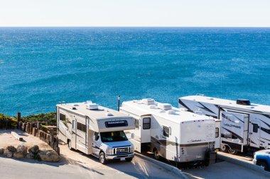 Winter RV camping in California