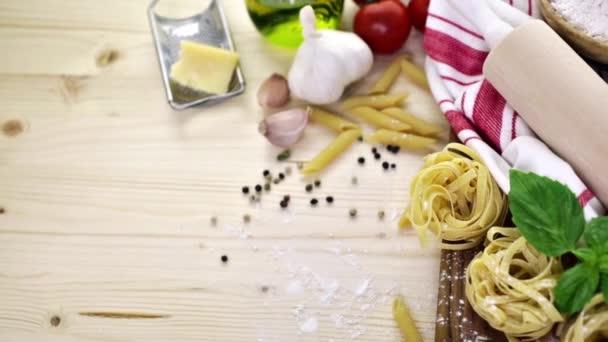 Fettuccine těstoviny recept