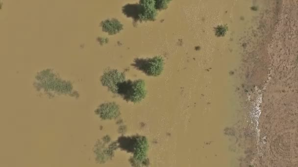 A légi felvétel a Colorado folyó