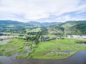 Fotografie Luftbild des Colorado river