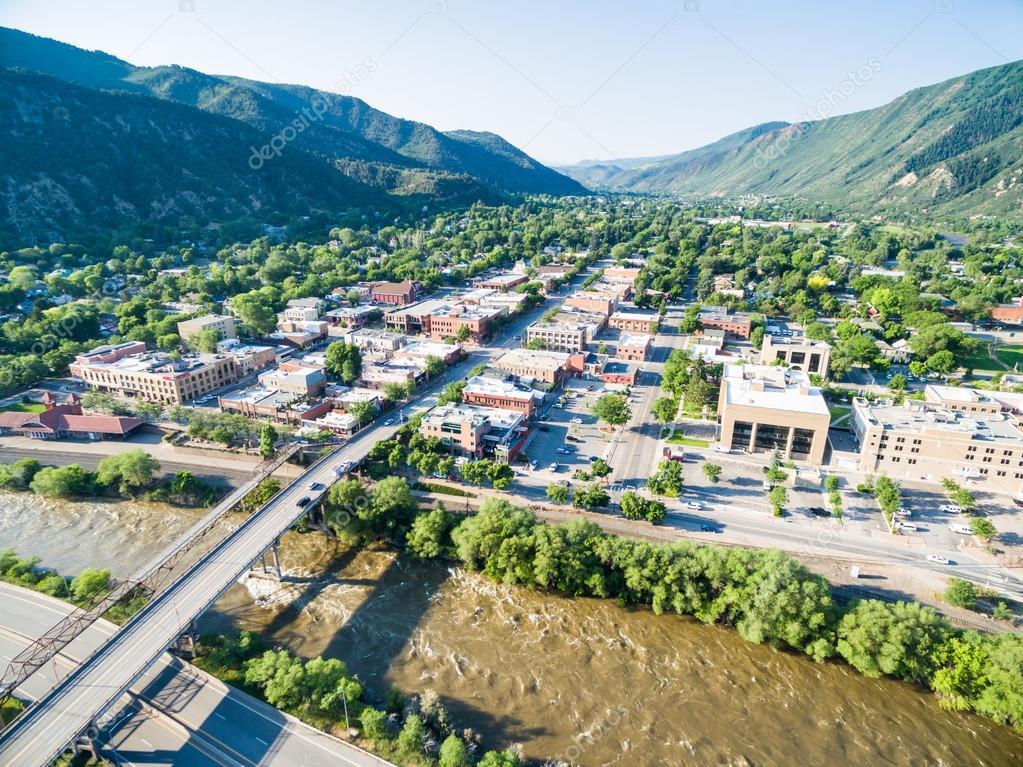Glenwood Springs Colorado Redaktionelles Stockfoto Urbanlight