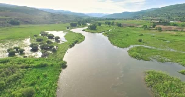 Letecký pohled na řece Colorado