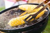 Malé letní piknik s kukuřicí