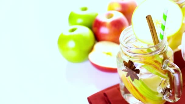 Infused apple water