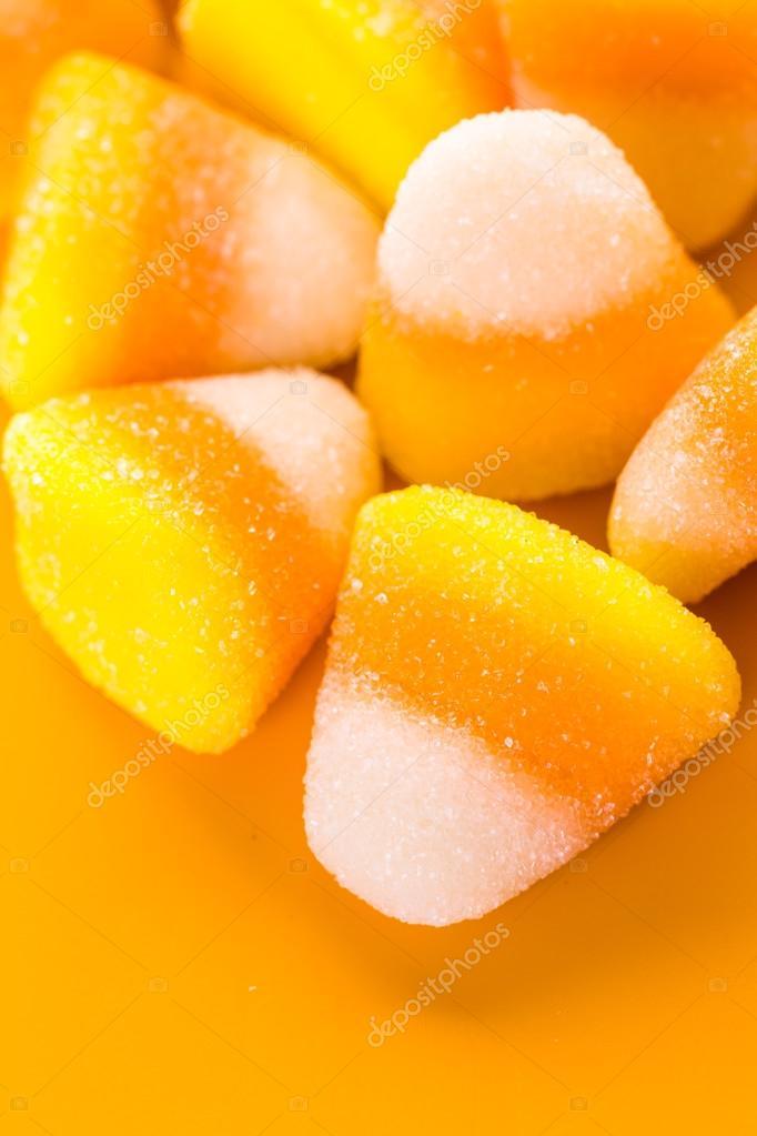 Süßigkeit Mais Halloween Leckereien Stockfoto Urbanlight 88285114
