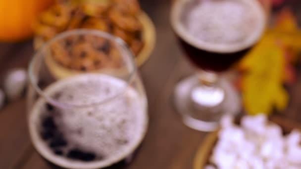 Craft pumpkin beer