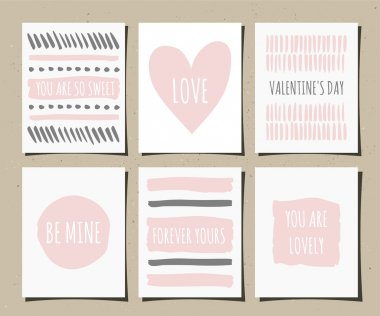 Hand Drawn Greeting Cards Collection