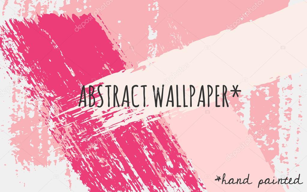 Abstract Brush Strokes Wallpaper Design Stock Vector C Ivaleks 70201203