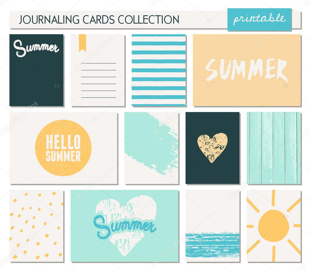 Greeting Card Templates Collection Stock Vector Ivaleks 70834247