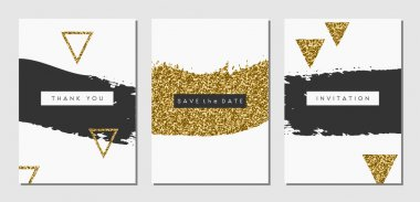 Abstract Design Cards Set