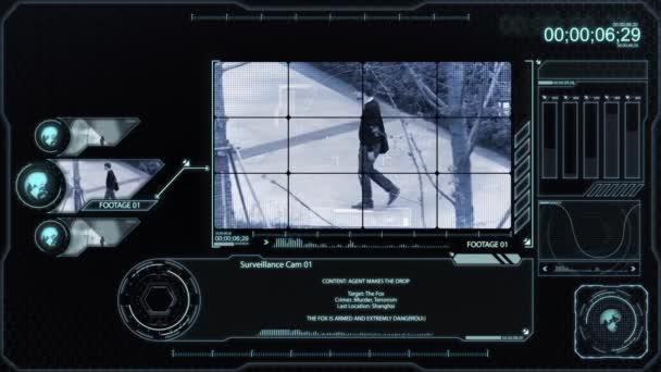 Monochromatický kontrolní Monitor