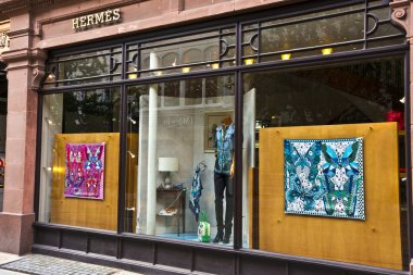 Hermes boutique in Manchester, England.