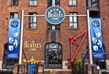 Beatles museum in Liverpool, England.