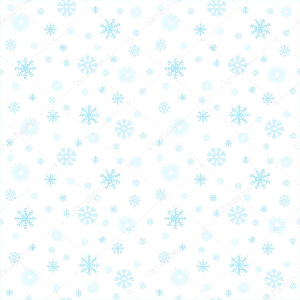 Fondos de patrones sin fisuras - copo de nieve, Vector, nieve, nieve ...