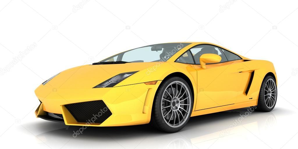 ламборджини желтая