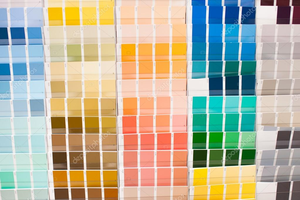 Color Palette With Big Spectrum Of Colors Stock Picture Photo By Brianholm
