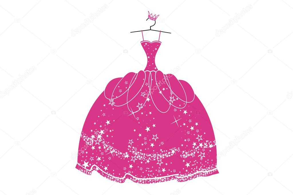 Beautiful dress for a princess