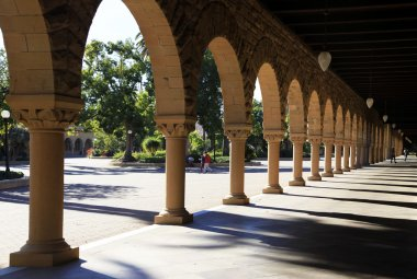 Stanford University Campus in Northern California
