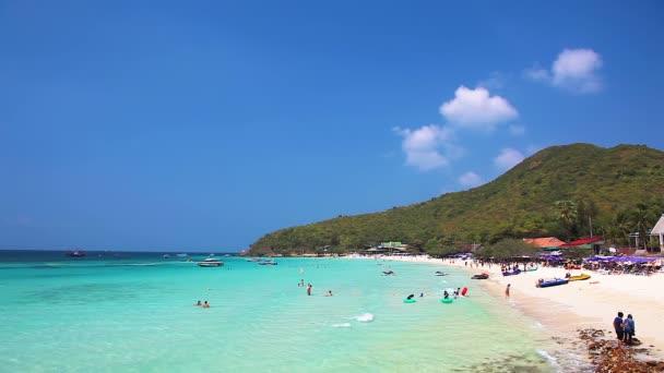 Beach Of Ko Lan