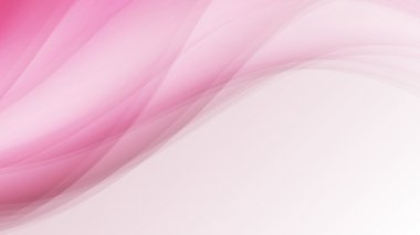 pink soft waves creative lines abstract background vector illust