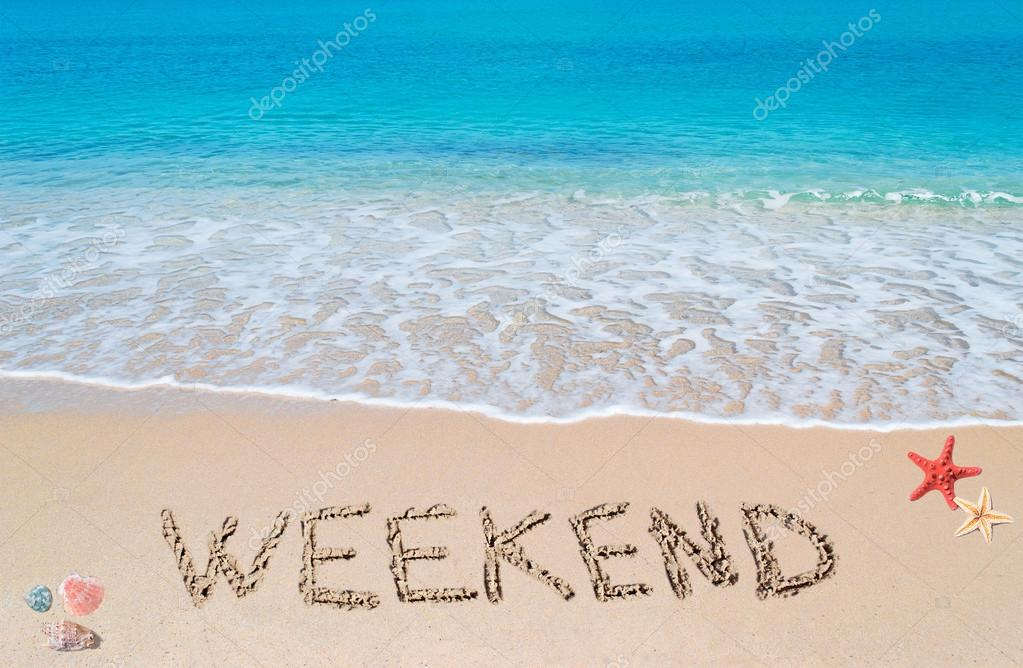 weekend on a tropical beach