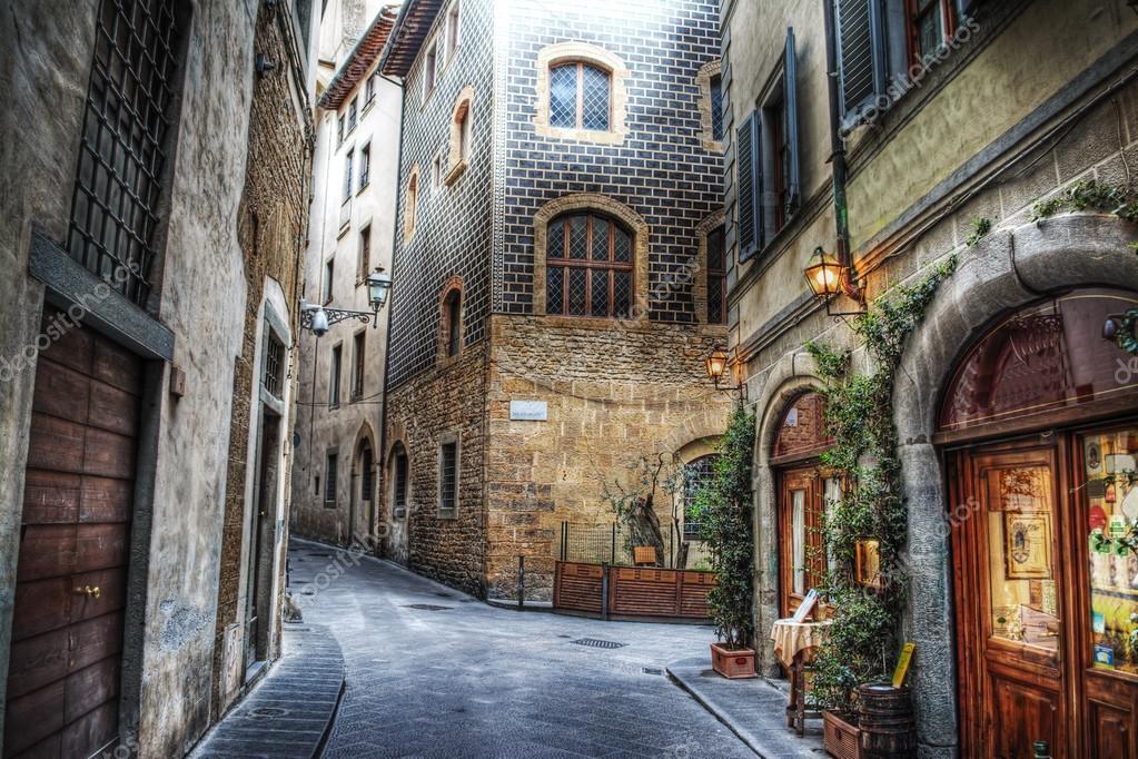 средние века картинки улицы