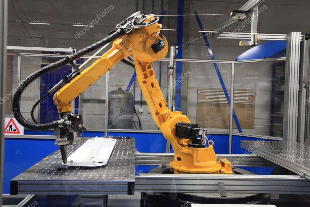 Populaire industriel dans le secteur manufacturier — Photo #103177036 GJ69