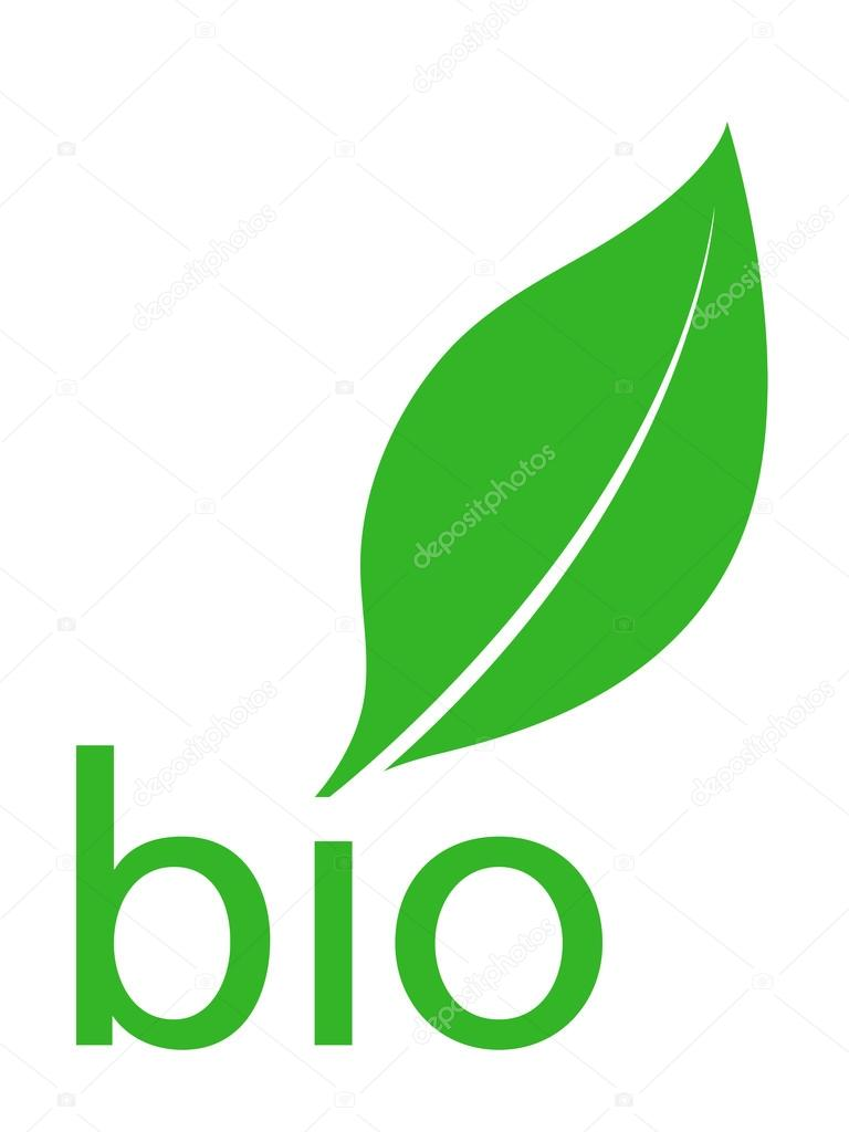 organic bio green leaf logo design � stock vector 169 an