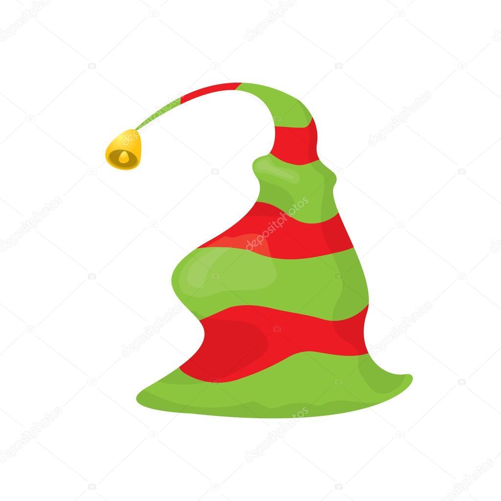 Chapeau De Lutin De Noel Illustration Vectorielle Image